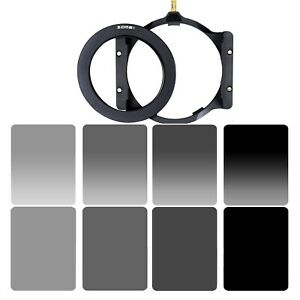 Zomei Neutral Density ND2 ND4 ND8 ND16 FilterHolderAdapter Ring For Cokin Z