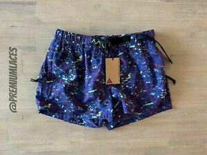 NIKE ACG SHORTS WOMENS SIZE XS or XL BQ3616 458 ALL CONDITIONS GEAR $43.95