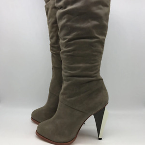 Ports 1961 Grey Tall Leather Boot 9