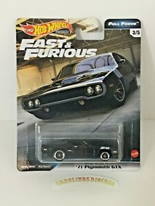 2020 Hot Wheels Fast & Furious Full Force 71 PLYMOUTH GTX NEW