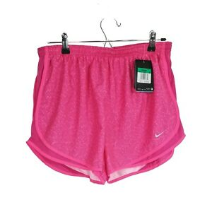 Women's Nike Extra Large Running Shorts Pink Lined Drawstring XL New NWT $25.00
