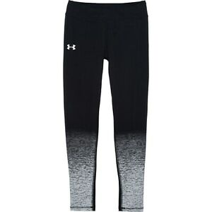 Girls Youth HeatGear Under Armour Black Leggings Size XL NEW NWT $21.99