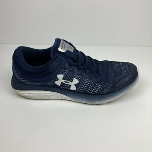 Under Armour Men's Charged Bandit 5 Running Shoes Size 10, Navy Blue $36.79