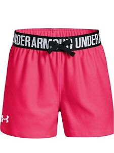 New Under Armour Girls' Play Up Shorts Size YXL $16.50