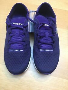 Under Armour shoes womens 8.5. Team Charge Bandit 3 Purple And Black. New In Box $90.00