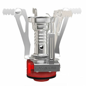 Gas One Backpacking Camping Stove Pocket Rocket Stove with Auto Ignition