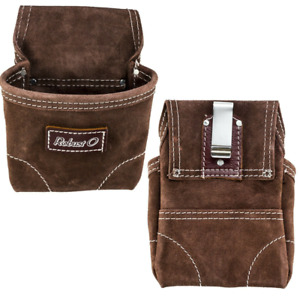 Single Pocket Nuts amp; Bolt Nail screws Tool Pouch Waist bag Heavy Suede Leather