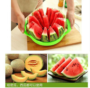 New Large Stainless Steel Watermelon Cutting Multifunctional Fruit Slicer
