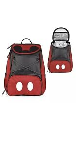 Mickey Mouse Cooler Backpack Portable Travel Bag Picnic Camping Heavy Duty Gift