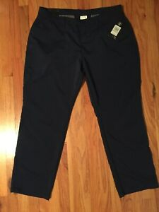 Mens Under Armour 42 X 30 Navy Blue Golf Pants Loose Brand New $65 $29.99