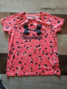 GIRLS UNDER ARMOUR LOOSE HEAT GEAR T SHIRT YOUTH XL $4.00