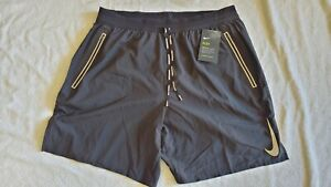 NWT Nike Dri Fit Flex Stride 2in1 Running Shorts Sz XL Black Reflective NSW $75 $35.00