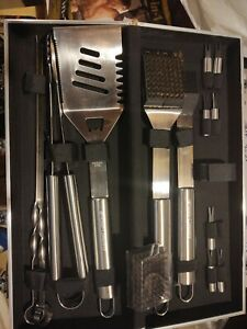 Grilling Accessories BBQ setStainless Steel With Case (DS)