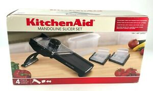 Kitchen Aid 4 Piece Mandoline Slicer Set NEW