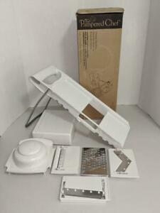 The Pampered Chef Ultimate Slice & Grate Mandoline Food Slicer 1109 -0720