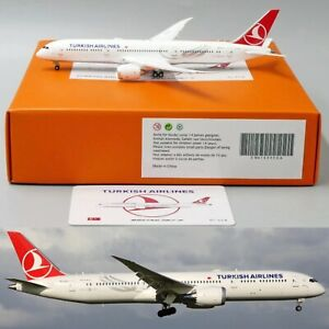 ** SALE ** Turkish Airlines B787 9 Reg: TC LLA Flaps Down JC Wings 1:400 Diecast