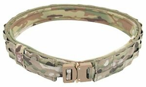 Grey Ghost Gear UGF Battle Belt with Padded Inner Multicam Small