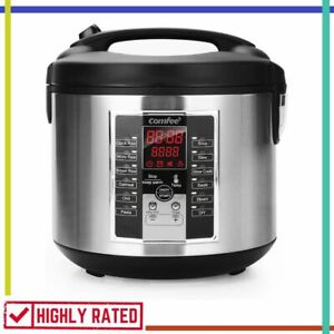 RICE COOKER Slow Steamer Stewpot Sauté All in One Digital Cooking By COMFEE' New