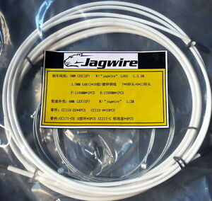 JAGWIRE HOUSING CABLE BRAKE SHIFTER COMPLETE KIT WHITE SUIT AVID SRAM SHIMANO $19.54