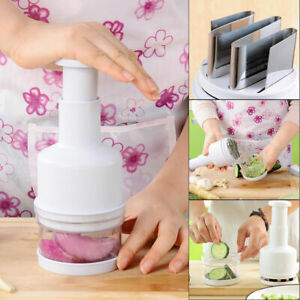 Magic Onion Chopper Food Vegetable Garlic Onion Dicer Mincer Cutter Peeler USA