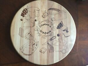 Cheese Board Wooden Cutting Serving