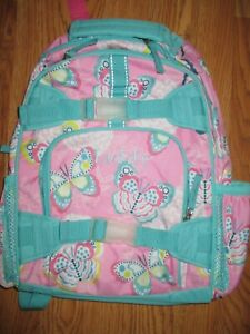 GIRL POTTERY BARN KIDS BACKPACK BUTTERFLY SMALL Maddy $9.99