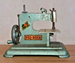 Old Machine To Sew Toy Piq Well Made IN France Vintage Year 50 Around $58.18