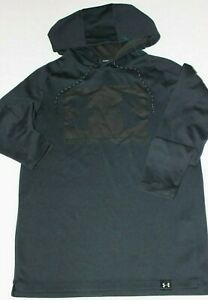 Men's new Under Armour Hoodie Light Weight Small 19 x 27 S Black $21.99