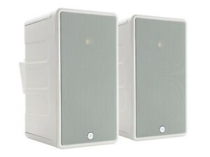 Monitor Audio White Climate 80 Outdoor Weather Resistant Speakers $800.00