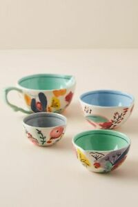 NWT Anthropologie Milton Measuring Cups Set