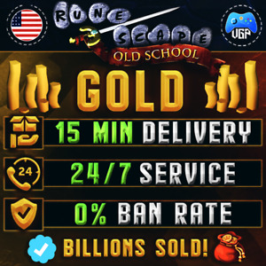 🔥 Old School Runescape Gold 🚛 15 min Delivery ✔️100% Positive FB OSRS GP