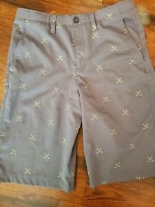 Boys Under Armour Heatgear Golf Shorts Youth Size 18 $12.50