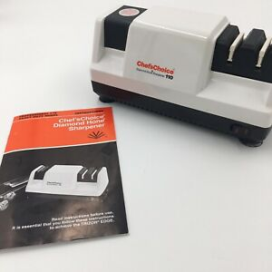 Chef's Choice Diamond Hone Electric Knife Sharpener Model 110 Sharpening TESTED