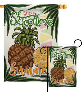 Sweettime Summer Garden Flag Food Fruits Small Decorative Gift Yard House Banner