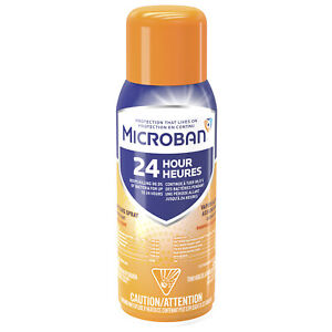 Microban 24-Hour All Purpose Cleaning Spray 354g CITRUS SCENT LIMIT OF 6 PLEASE