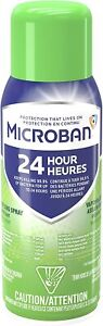 Microban 24-Hour All Purpose Cleaning Spray FRESH SCENT 354g - LIMIT OF 6 PLEASE