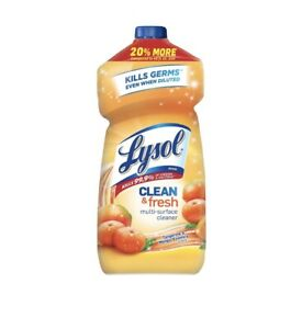 Lysol Brand New Day Multi-Surface Cleaner, Mango and Hibiscus Concentrate 48 oz