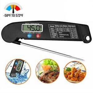 Instant Digital Electronic Kitchen Cooking BBQ Grill Food Meat Thermometer NE W $6.29