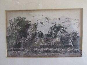 Old #x27;Etching#x27; Landscape Signed GAH Geo. Arthur Hays? c. 1915? Please Read $24.95