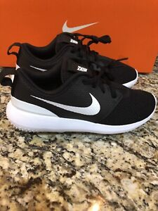 New Nike Youth Roshe G JR Golf Shoes Size 3Y Style 909250 001 MSRP $60.00 $35.00