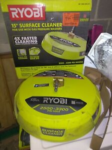 Ryobi RY31SC01 15 inch 3300PSI Surface Cleaner, works great *Tested*