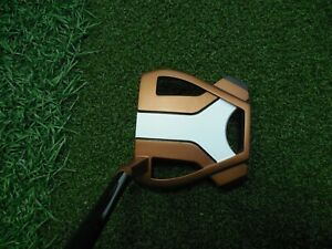 Taylormade Tour Issue SPIDER X TOUR Copper White #3 hosel BORDERS w black shaft