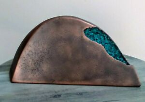 abstract organic steel metal sculpture fabricated $25.00