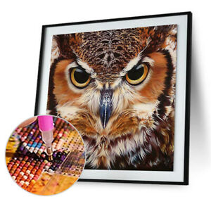 Full Drill Animal Print Diamond Painting Embroidery DIY Cross Stitch S1 $8.72