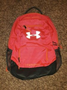 Under Armour Storm 1 Backpack Neon Pink Orange $11.99