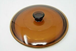 Universal 7 1 2quot; Round Amber Glass Replacement Lid Only $4.99