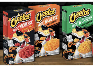 Cheetos Mac 'n Cheese 3 PACK OF ALL FLAVORS !! 5.9 Oz Brand New! Ships Fast