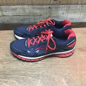 Brooks GTS 16 mens 11 blue red athletic running shoes $24.99