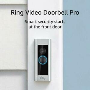 Ring Video Doorbell PRO 1080p HD Video WiFi Wired FACTORY SEALED * NEW
