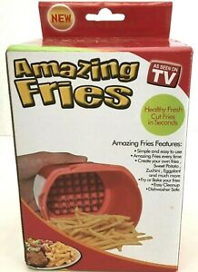 Amazing Fries As Seen On TV New in Box Kitchen Tool Potato French Fry Cutter